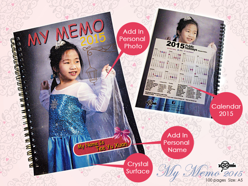 Personalised Memo Book